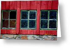 Look Throught Any Window Greeting Card
