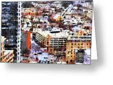 Looking East In Baltimore Greeting Card