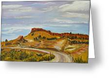 Looking For The Hoodoos Greeting Card