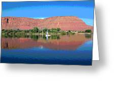 Reflections Of Ivins, Ut Greeting Card