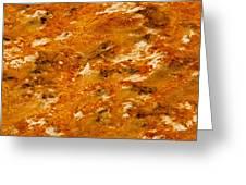 Looks Like Pizza Greeting Card