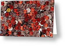 Loose Change . 2 To 1 Proportion Greeting Card