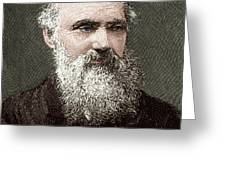 Lord Kelvin, Scottish Physicist Greeting Card