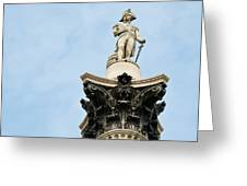 Lord Nelson's Column Greeting Card