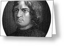 Lorenzo De Medici Greeting Card