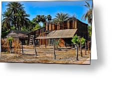 Loreto Barn Greeting Card