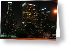 Los Angeles City Greeting Card