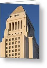 Los Angeles City Hall Greeting Card