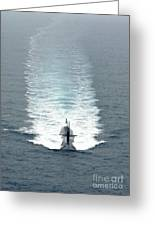 Los Angeles-class Fast Attack Submarine Greeting Card