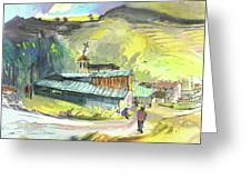 Los Olmos De Penafiel In Spain 01 Greeting Card