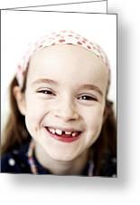 Loss Of Milk Teeth Greeting Card by Ian Boddy