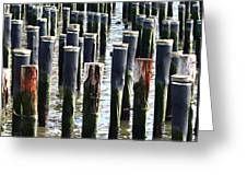 Lost Dock Greeting Card