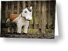 Lost Pony Greeting Card