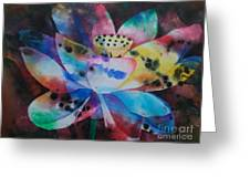 Lotus 3 Greeting Card