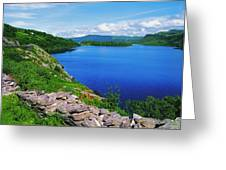 Lough Caragh, Co Kerry, Ireland Greeting Card