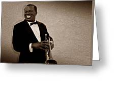 Louis Armstrong S Greeting Card