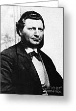 Louis Riel Greeting Card