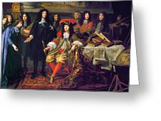 Louis Xiv (1638-1715) Greeting Card