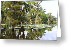 Louisiana Greeting Card