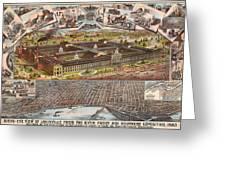 Louisville 1883 Greeting Card