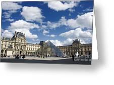Louvre Museum. Paris Greeting Card