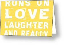 Love And Cold Beer Poster Greeting Card