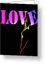 Love And Shadows Greeting Card
