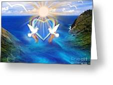 Love Doves Greeting Card
