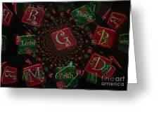 Love Faith Peace Greeting Card