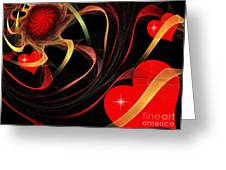 Love Is A Gift From The Heart Greeting Card