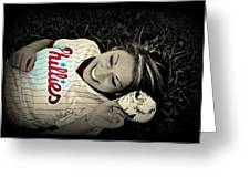 Love Of The Game Greeting Card