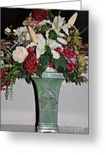 Lovely Floral Arrangement Greeting Card