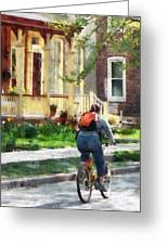 Lovely Spring Day For A Ride Greeting Card