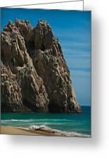 Lovers Beach Greeting Card