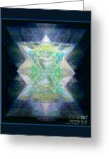 Love's Chalice From The Druid Tree Of Life Greeting Card