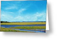 Low Country Marsh Greeting Card