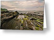 Low Tide Rocks Greeting Card
