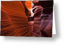 Lower Antelope Canyon, Arizona Greeting Card