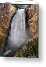 Lower Falls II Greeting Card