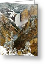 Lower Falls Greeting Card
