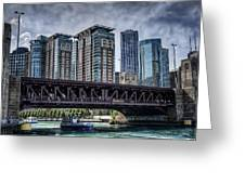 Lsd Lake Shore Drive In Color Greeting Card