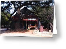 Luckenbach Texas - II Greeting Card by Susanne Van Hulst