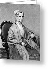 Lucretia Coffin Mott, American Activist Greeting Card by Photo Researchers