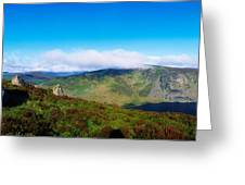 Luggala And Lough Tay, Co Wicklow Greeting Card