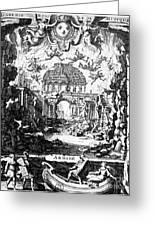 Lully: Armide, 1686 Greeting Card