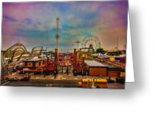 Luna Park-a-rama Greeting Card