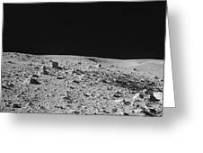 Lunar Surface Greeting Card