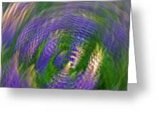 Lupine Swirl Greeting Card