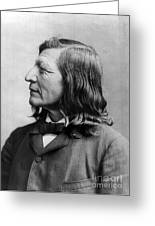 Luther Standing Bear Greeting Card