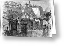 Luxembourg, 19th Century Greeting Card